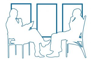 Stress reduction supports a successful job interview