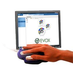 Evox with hand cradle
